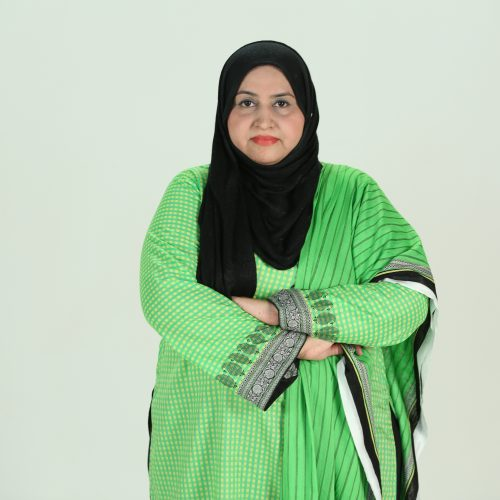 Ms. Aisha Jabeen